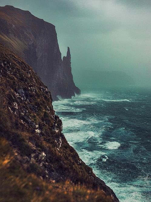 Storm Færøyene