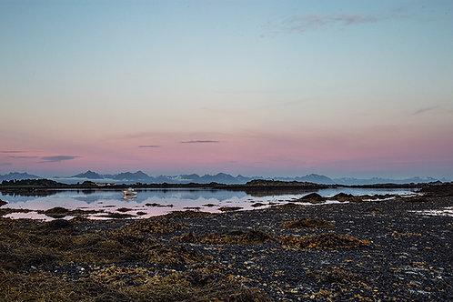 Sommernatt Bø i Vesterålen
