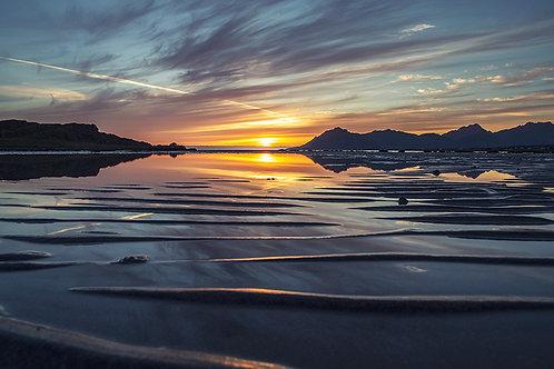 Sommernatt Bø i Vesterålen 2