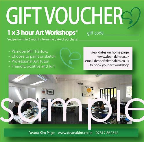 1 x 3 hr workshop in Essex