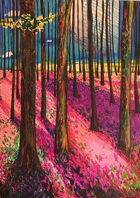 The Trees (sharpie heaven)