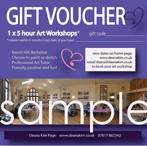 1 x 5 hr workshop in Berkshire