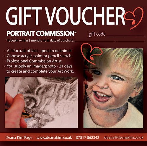 Commission a Portrait (Face)