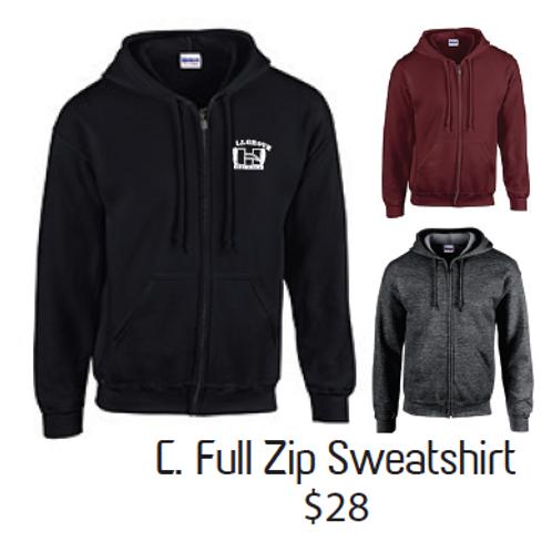 C. Full Zip Sweatshirt
