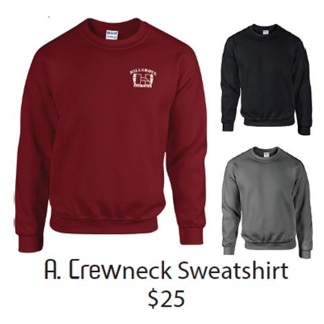 A. Crewneck Sweatshirt
