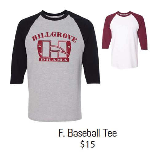 F. Baseball Tee