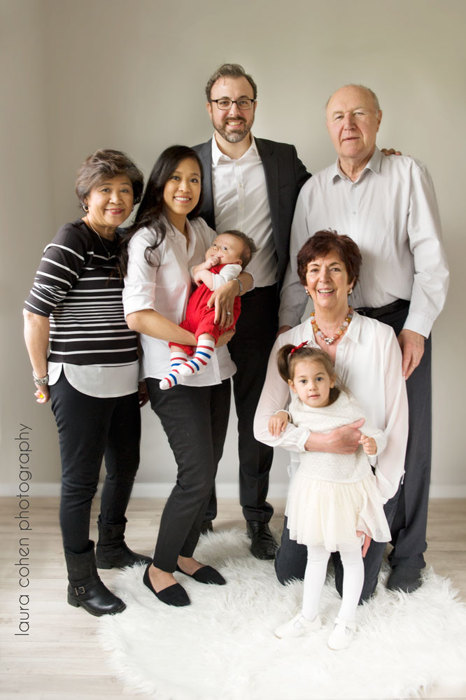family session in the studio