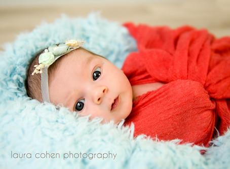 Cute little baby girl