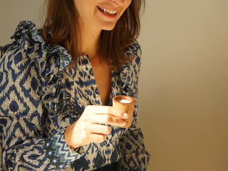 Rencontre avec Hélène, co-fondatrice de Huages, la marque d'huiles au CBD fabriquées en France 🌱