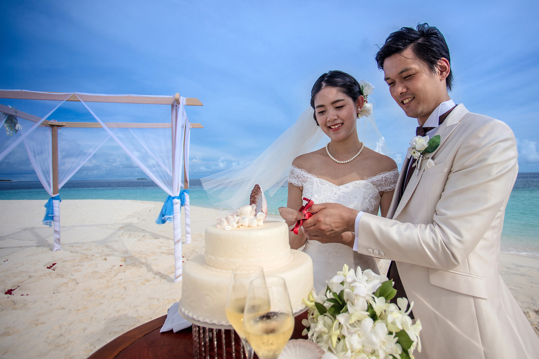 Beach wedding (1)