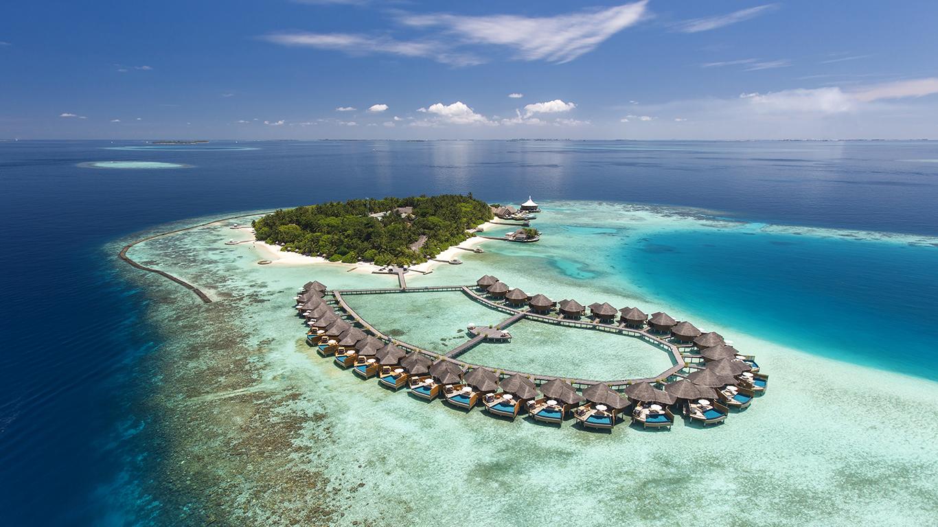 1島1リゾートが基本のモルディブで楽しむビーチリゾートステイ