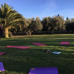 week-end yoga & ayurveda domaine des clo