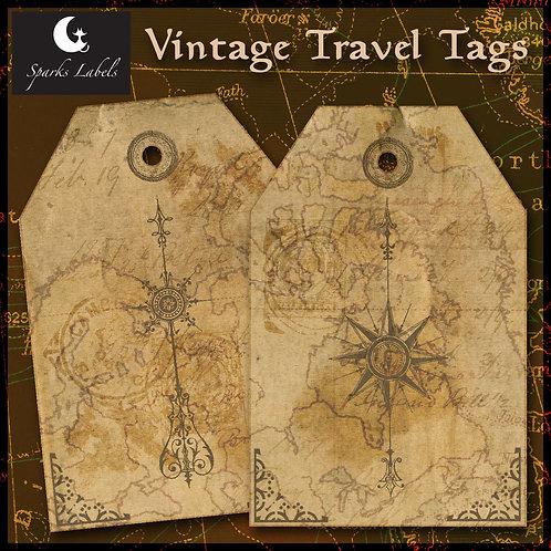 Vintage Travel Tags