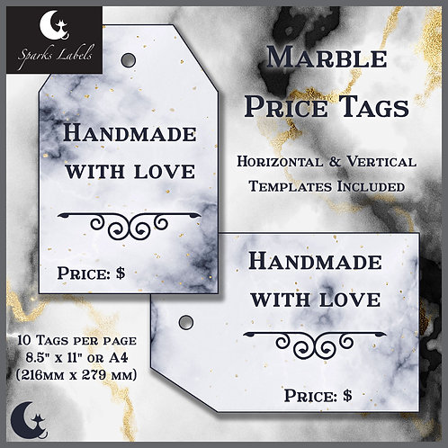 Marble Price Tags