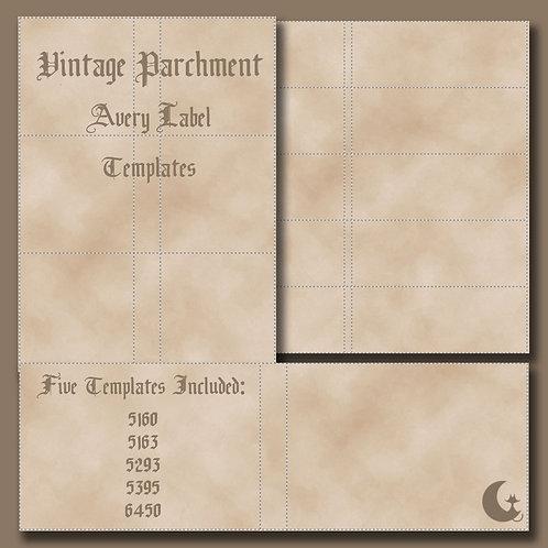 Vintage Parchment (Avery Labels)