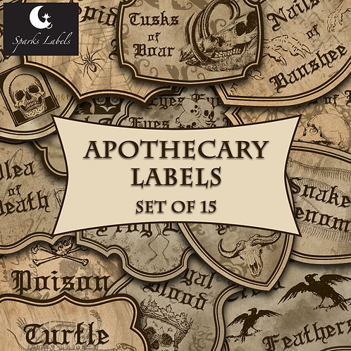 Apothecary Labels