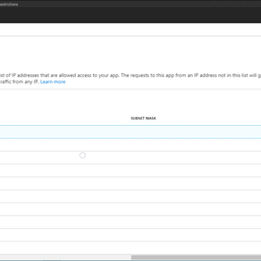 Sitecore XP Azure PaaS: Restrict Access By IP Address