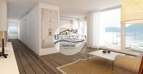 BRIONE sopra MINUSIO – Esclusivo Appartamento di 3,5 Locali con Vista Lago