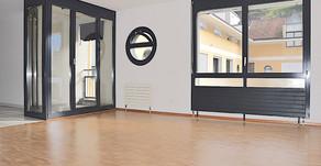 BELLINZONA - Monolocale in centro città / Kleine 1,5 Zi. Wohnung im Zentrum der Stadt mit Sicht auf