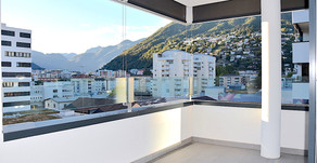LOCARNO CITTÀ - Moderno 2,5 locali con Terrazza / Moderne 2,5 Zi. Wohnung - auch Zweitwohnsitz