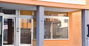 BRISSAGO - Locale commerciale - ufficio con vetrina / Geschäft - Büro mit Vetrine in zentraler Lage