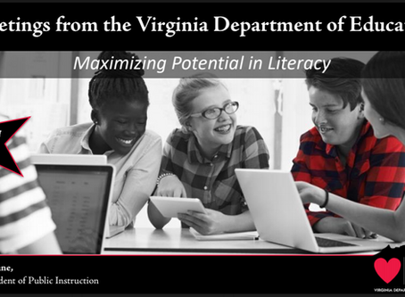 Science Of Reading Comes to Virginia