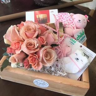 Baby Girl Gift Box #motherhood #motherda