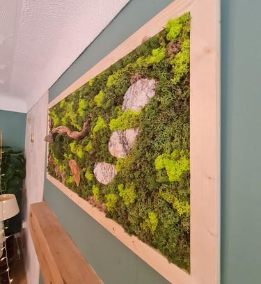 Large Statement Moss Wall Art