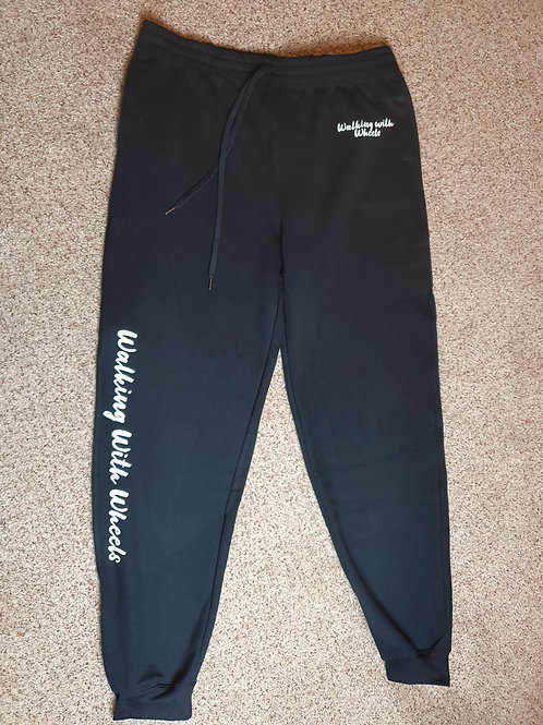 Walking With Wheels unisex cuffed joggers