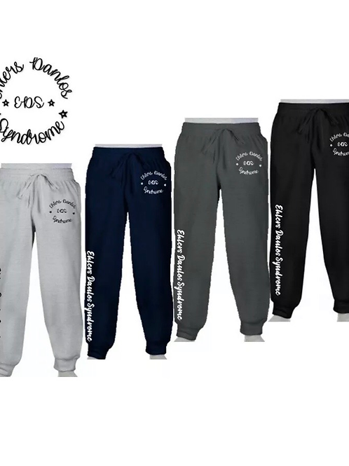 Ehlers Danlos Syndrome awareness unisex cuffed joggers