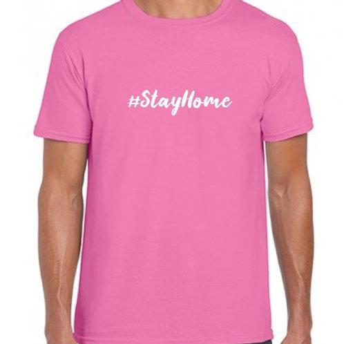 Unisex #StayHome T-shirt