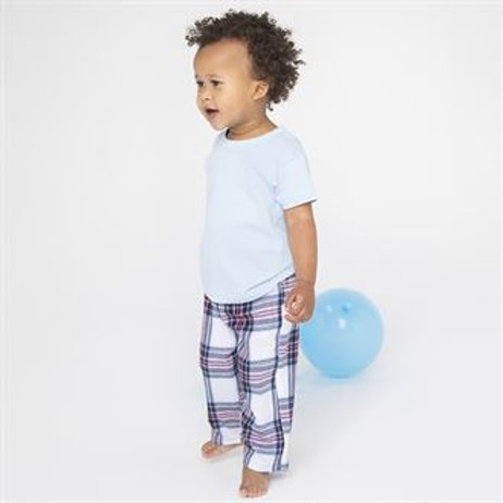 Baby & Toddler tartan lounge trousers