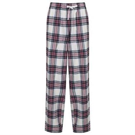 Ladies Tartan Pyjama Trousers