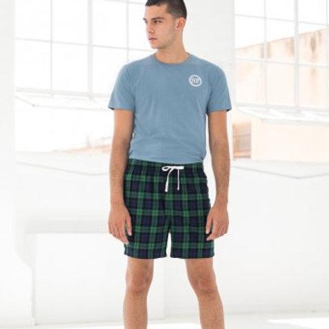 Men's Tartan lounge shorts