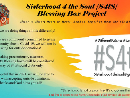 Sisterhood 4 the Soul {S4tS} Blessing Box Project