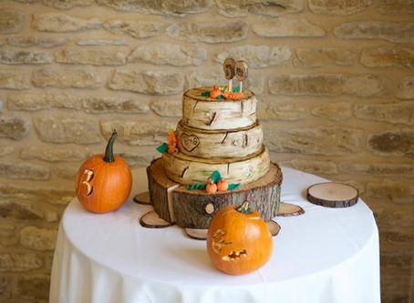 Becky & Gavin's Auntumnal Wedding | Winkworth Farm