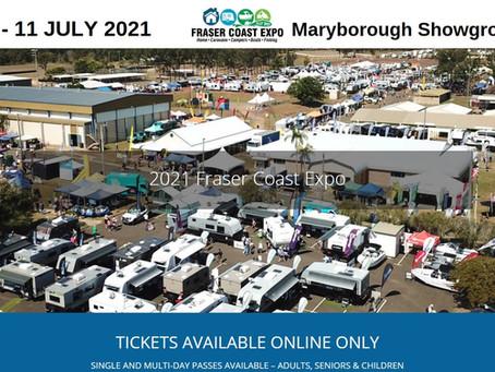 Evolution Tiny Homes at Fraser Coast Expo July 9-11 2021