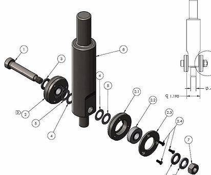 Roller Swaging Tool for bearings