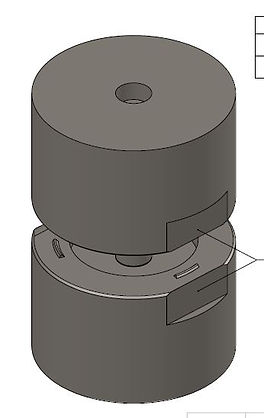Chistle Staking tool for Aerospace Bearings