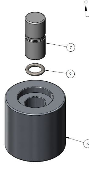 Bearng Installation Tool for Aerospace Bearings