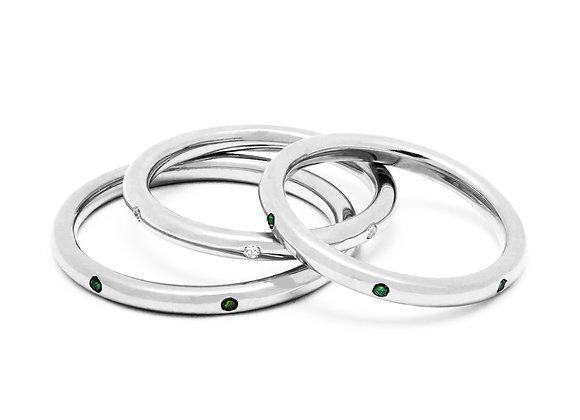 IL SPAGHETTO SOLITARIO RING | Silver
