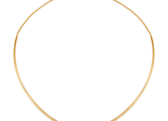 IL SPAGHETTO SOLITARIO NECKLACE | GOLD