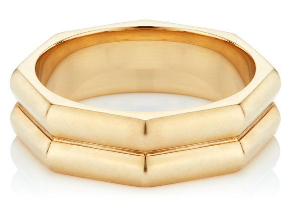 THE MILESTONE RING (Double Band)