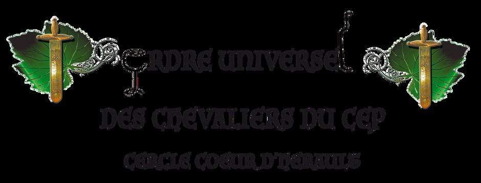 Grand Chapitre des Chevaliers du Cep Coeur d'Hérault