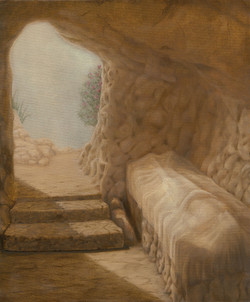14 - Jesus is laid in the tomb