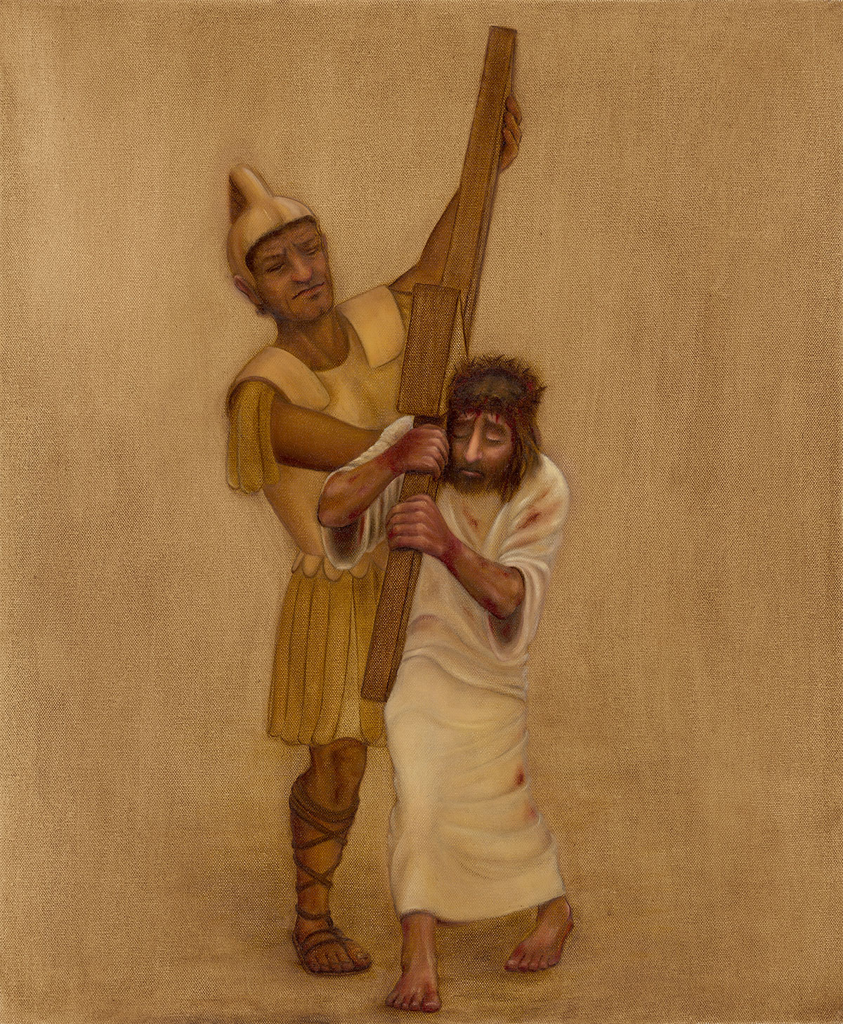 2 - Jesus carries the cross