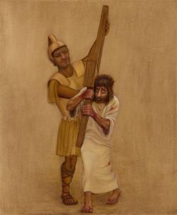 2 - Jesus carries the cross