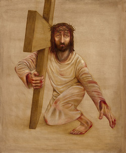 7 - Jesus falls the second time