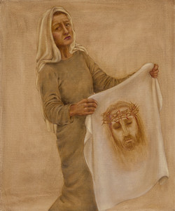 6 - Veronica wipes the face of Jesus