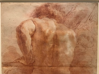 """""""Drawing includes three and a half quarters of the content of painting…Drawing contains everything,"""